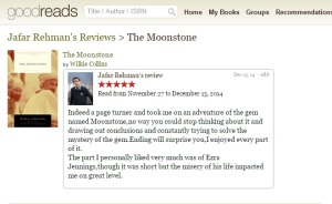 the moonstone review screen
